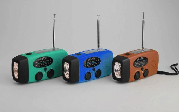Outdoor Solar Radio