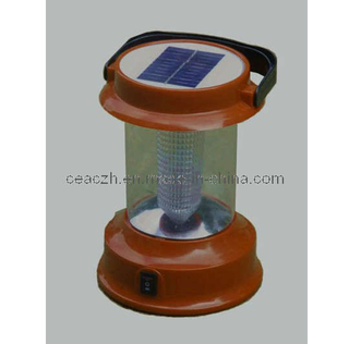 Portable Solar Lantern for Camping with LED Lighting