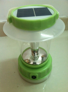 Solar Hand Crank Sensitive Lamp